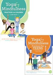 Yoga and Mindfulness for Children and Teens Card Deck Bundle