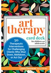 Art Therapy Card Deck for Children and Adolescents