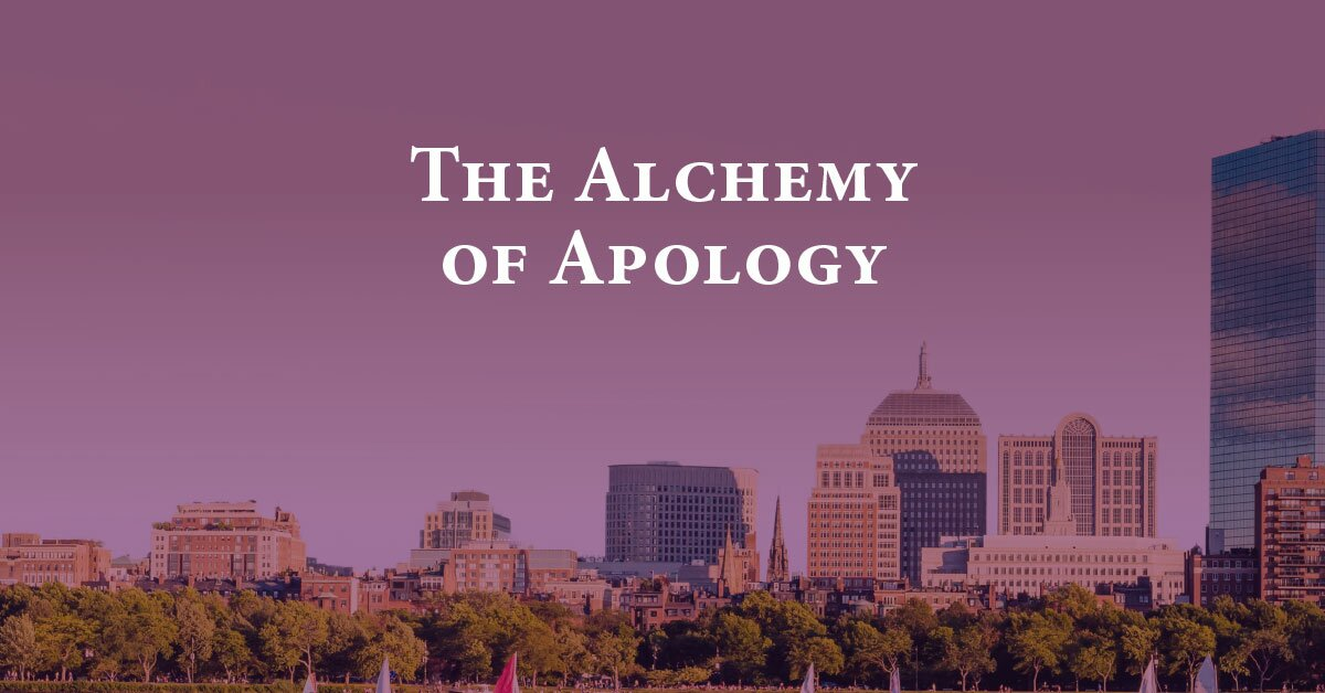 The Alchemy of Apology 2