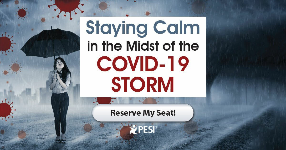 Staying Calm in the Midst of the COVID-19 Storm 2