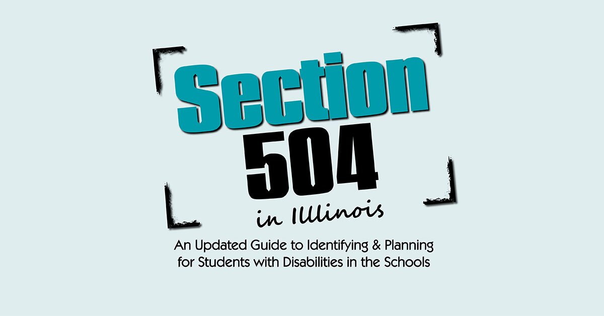 Section 504 in Illinois 2