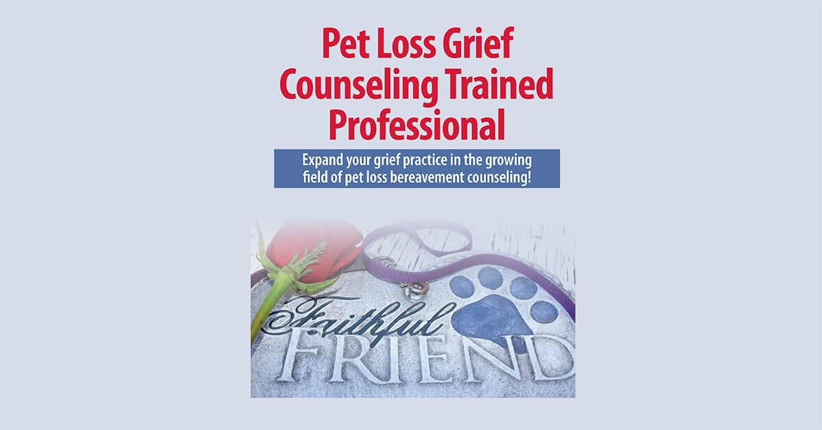 Pet Loss Grief Counseling Trained Professional 2