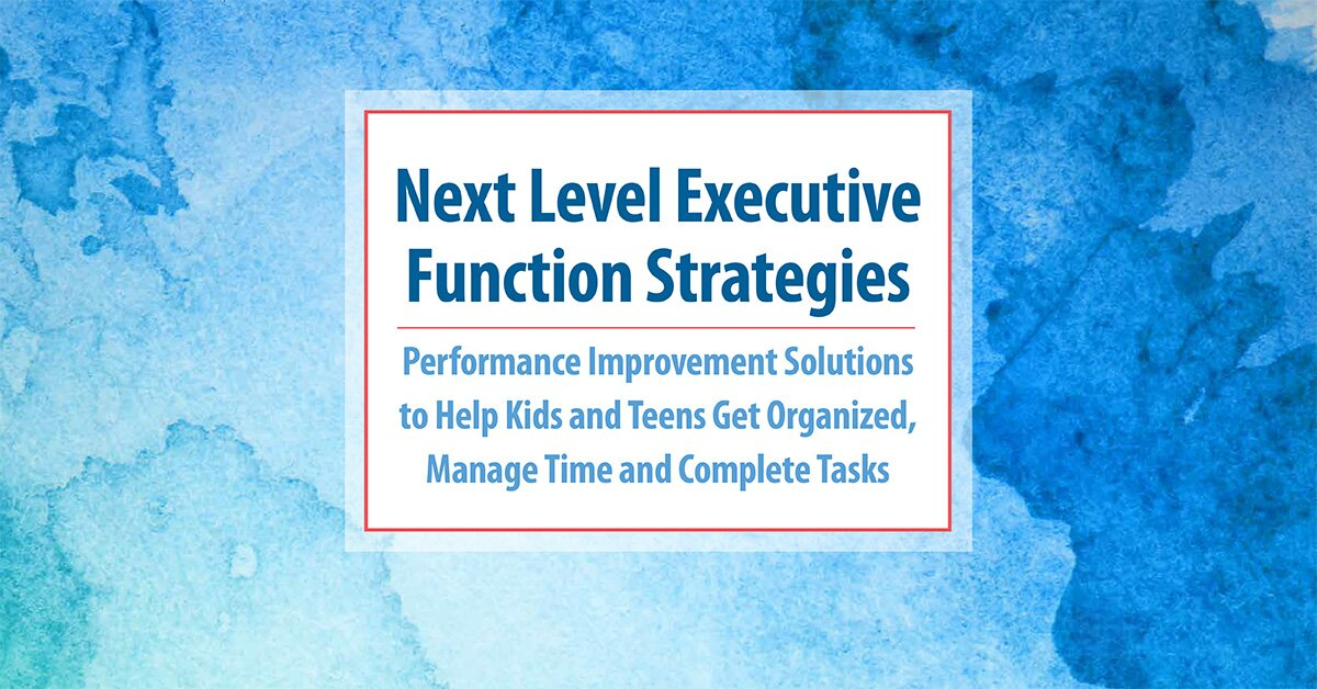 Next Level Executive Function Strategies: Performance Improvement Solutions to Help Kids and Teens Get Organized, Manage Time and Complete Tasks 2