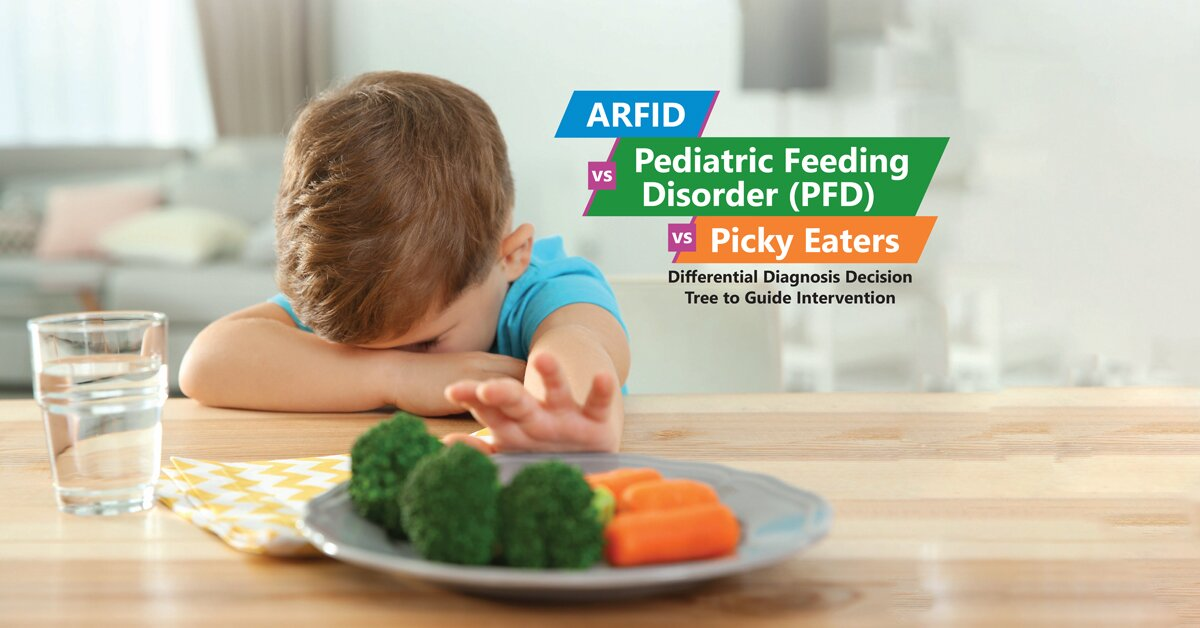 ARFID vs Pediatric Feeding Disorder (PFD) vs Picky Eaters: Differential Diagnosis Decision Tree to Guide Intervention 2