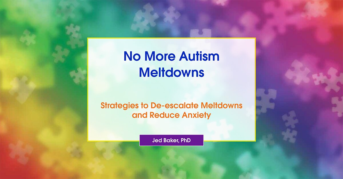 No More Autism Meltdowns: Strategies to Deescalate Meltdowns and Reduce Anxiety 2