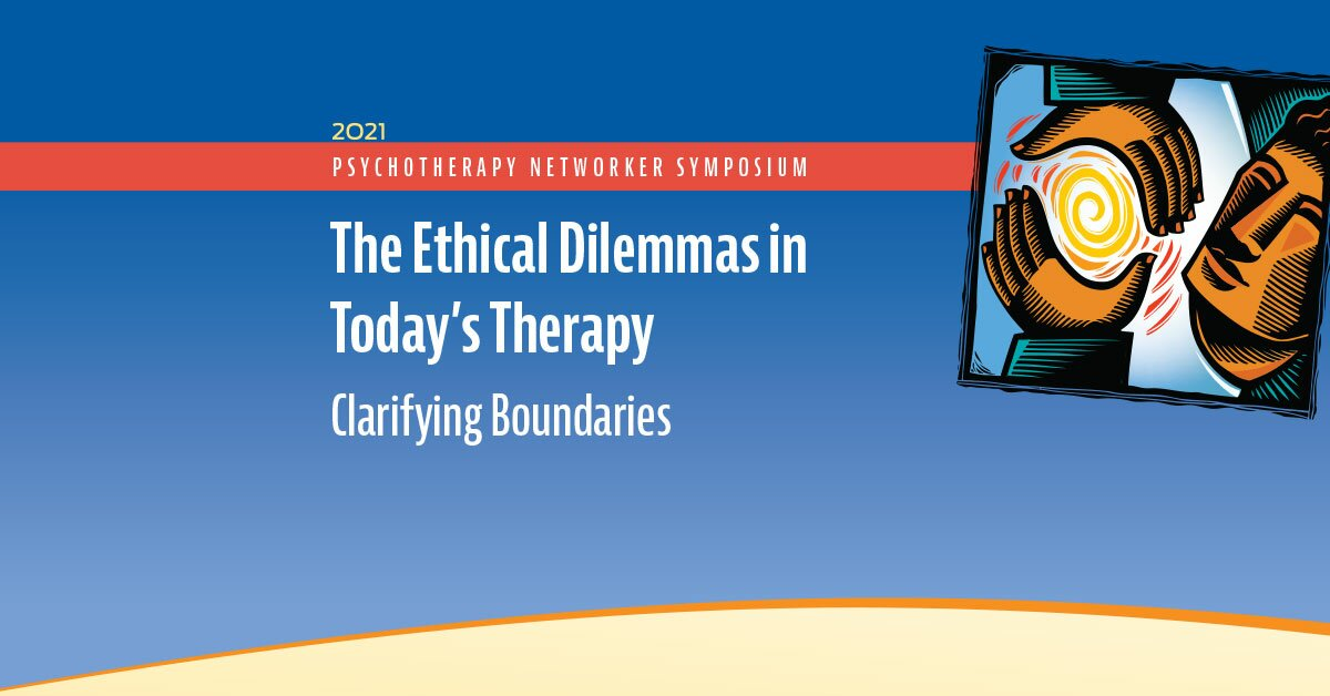 The Ethical Dilemmas in Today's Therapy: Clarifying Boundaries 2