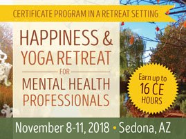 4-Day: Happiness and Yoga Retreat for Mental Health Professionals