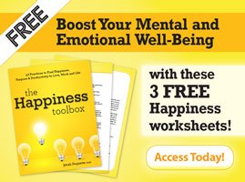 Boost your mental and emotional well-being with these 3 FREE Happiness worksheets!