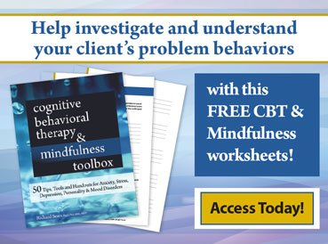 CBT and Mindfulness Worksheet