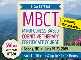 5-Day Retreat: Mindfulness-Based Cognitive Therapy (MBCT) Certificate Course