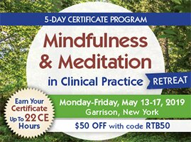 5-Day Certificate Program: Mindfulness & Meditation in Clinical Practice Retreat