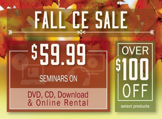 Fall CE Sale