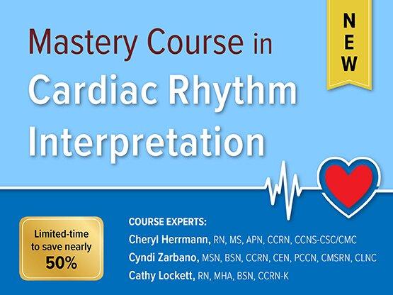 Mastery Course in Cardiac Rhythm Interpretation - CRS001327