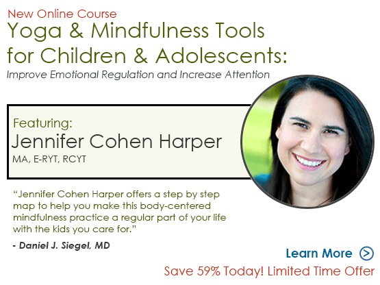 New Online Course: Yoga and Mindfulness for Children and Adolescents