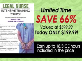 Legal Nurse Intensive Training Course