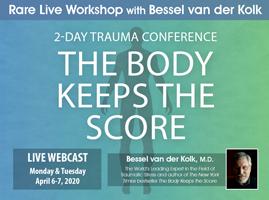 Watch Bessel van der Kolk Live!