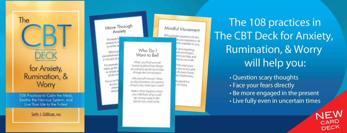 The CBT Deck for Anxiety, Rumination, & Worry
