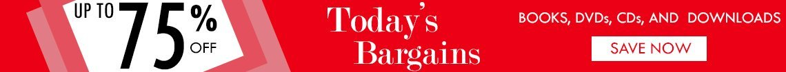 Today's Bargains - Up To 75% Off