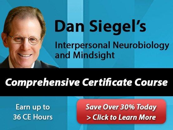 Dan Siegel's Interpersonal Neurobiology and Mindsight Comprehensive Certificate Course