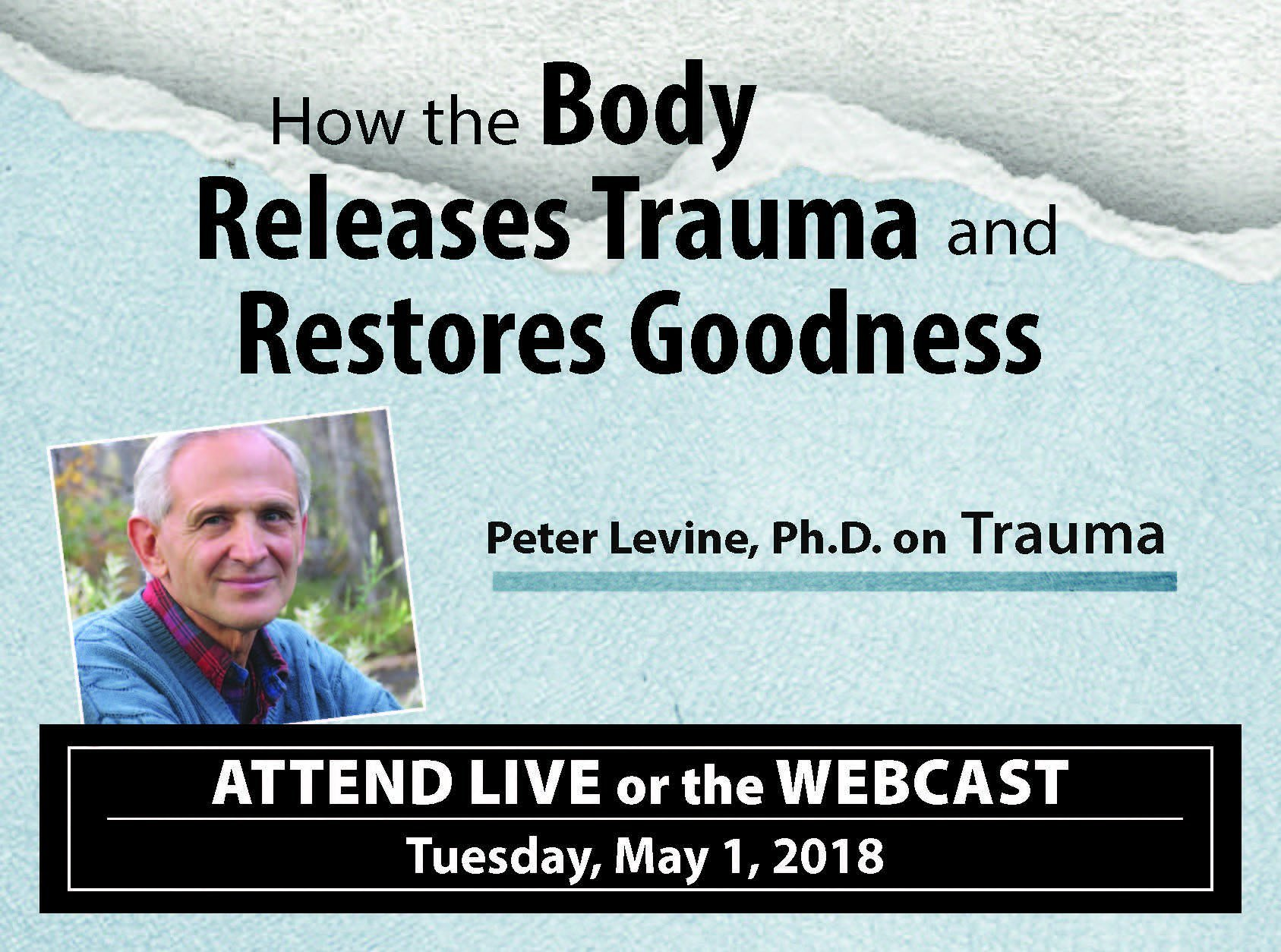 Peter Levine on Trauma