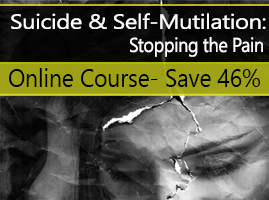 Register for Suicide & Self-Mutilation: Stopping the Pain
