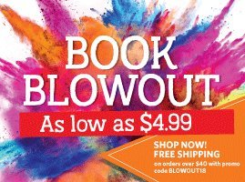 All workbooks marked down. PLUS free shipping on orders of $40+ with code BLOWOUT18