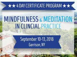 4-Day Certificate Program Retreat: Mindfulness & Meditation in Clinical Practice