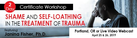 2-Day Certificate Workshop: Shame and Self-Loathing in the Treatment of Trauma
